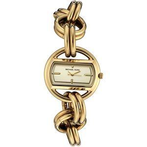 Women's MK3113 Gold-Tone Stainless Steel Watch